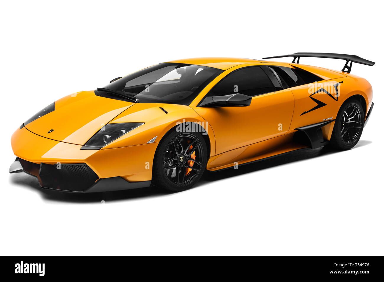 Lamborghini Murcielago Sv Stock Photo Alamy