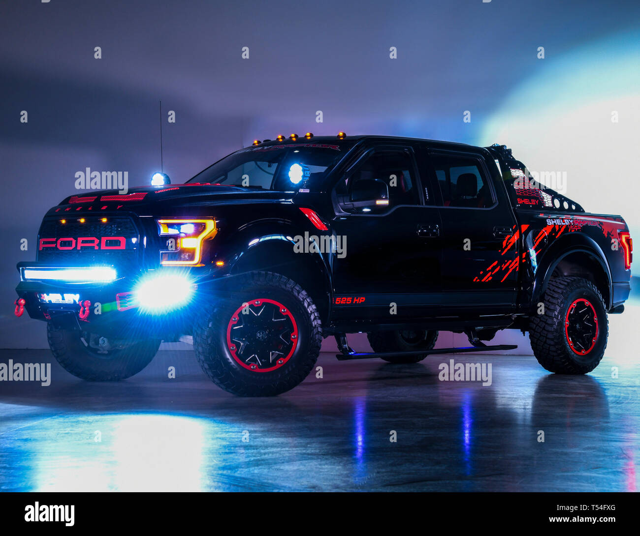 April 20, 2019: 2018 Ford F-150 SHELBY Raptor Baja 525HP