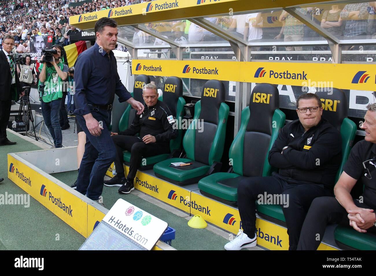 Monchengladbach Gladbach Deutschland 20th Apr 2019 Firo 20 04 2019 Football Football 1 Bundesliga Season 2018 2019