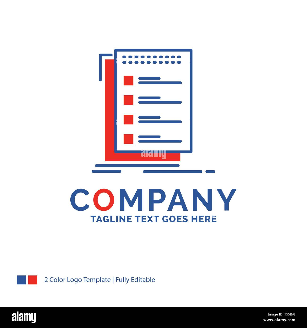 Company Name Logo Design For Check Checklist List Task