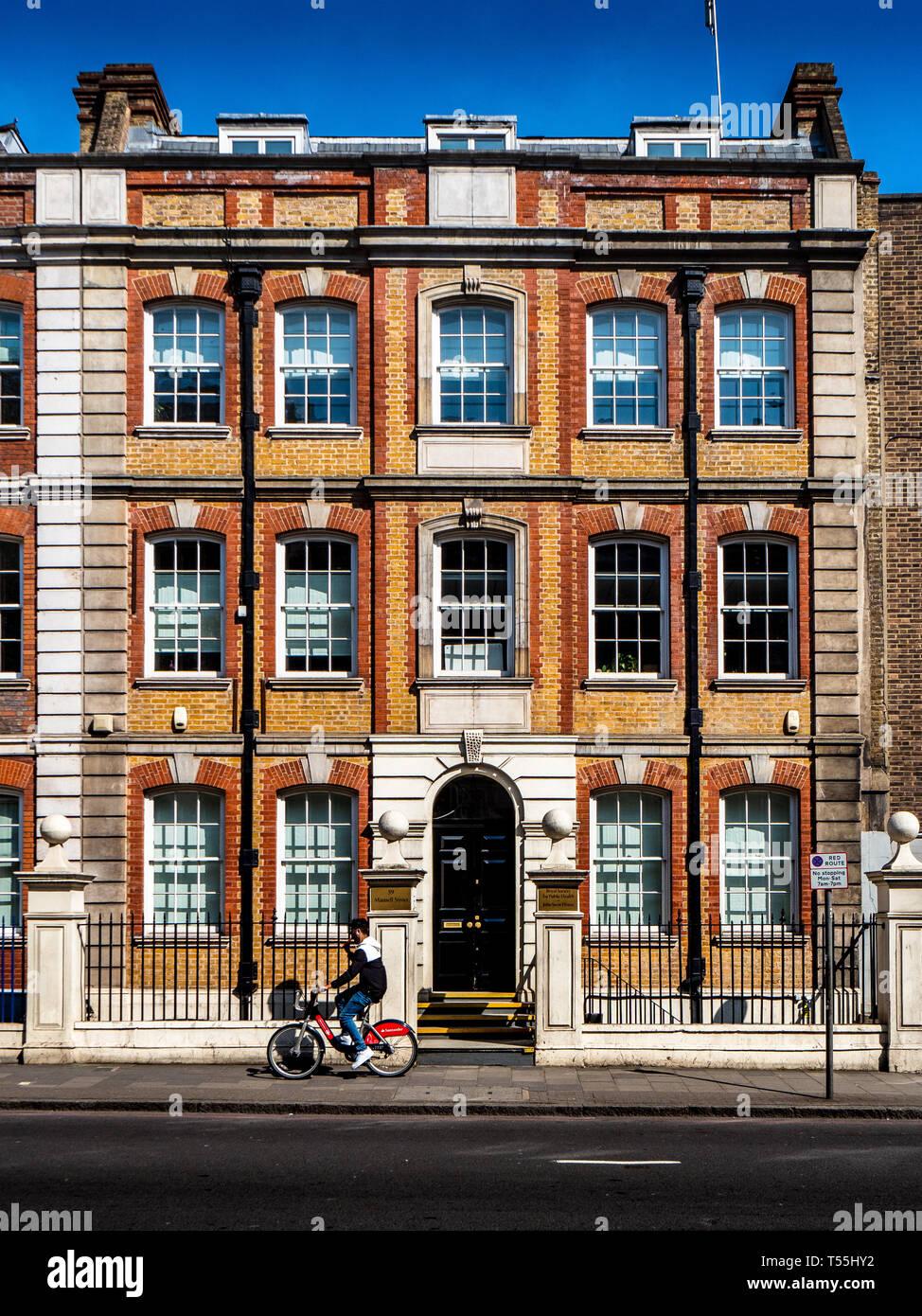 Royal Society for Public Health RSPH John Snow House 59 Mansell Street London Stock Photo