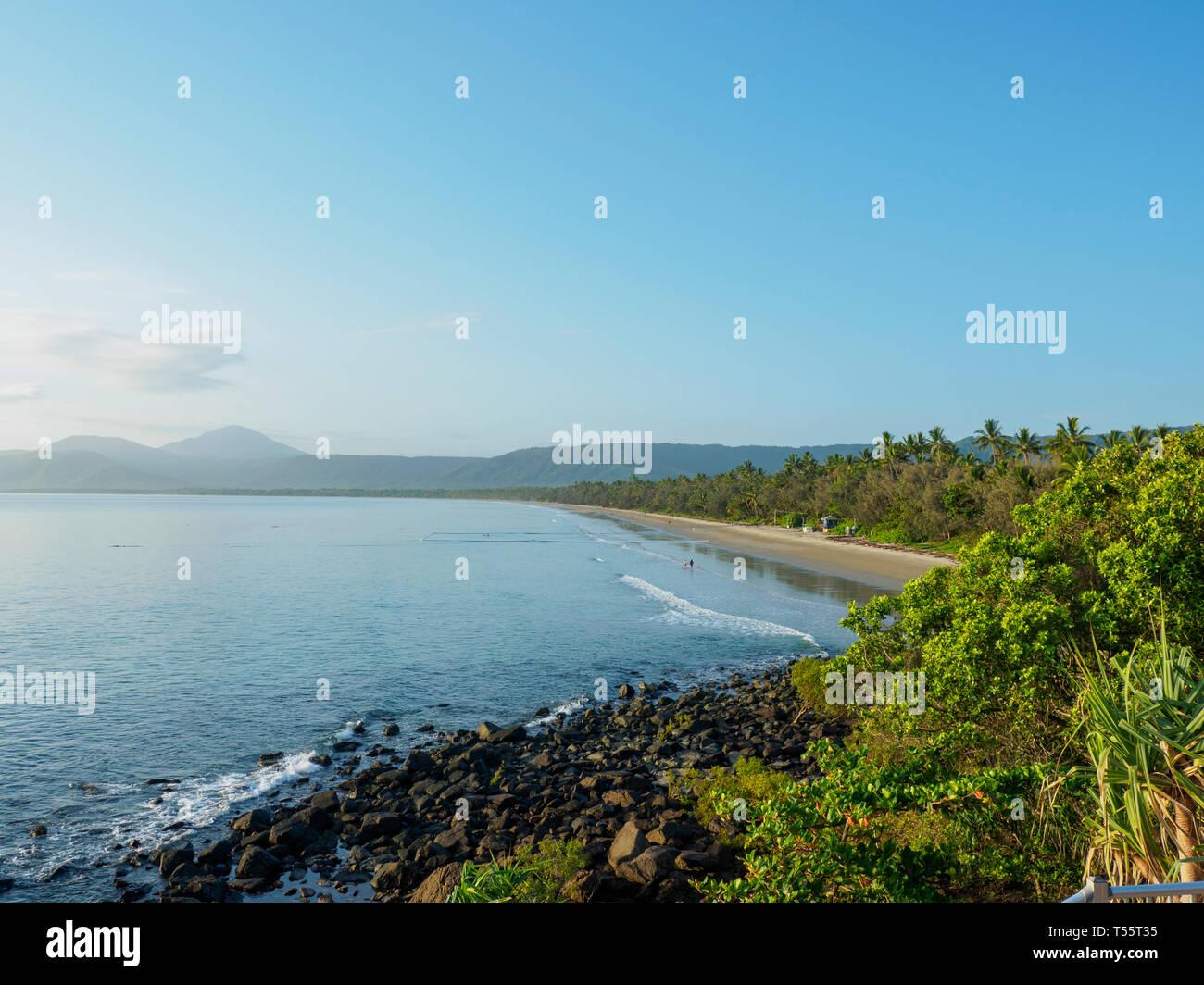 Coastline of Port Douglas, Australia - Stock Image