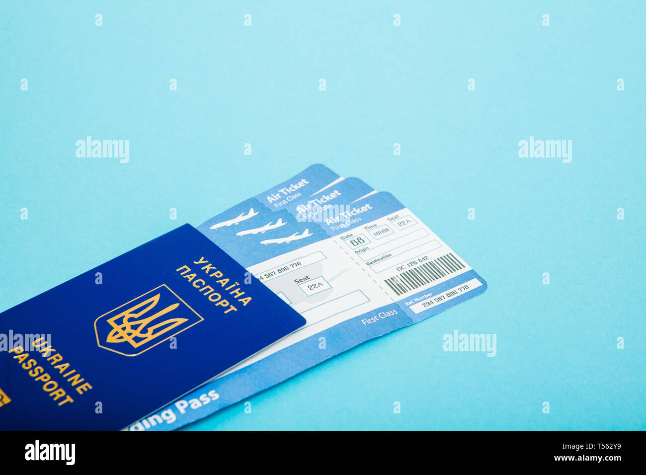 Air Tickets Stock Photos & Air Tickets Stock Images - Alamy
