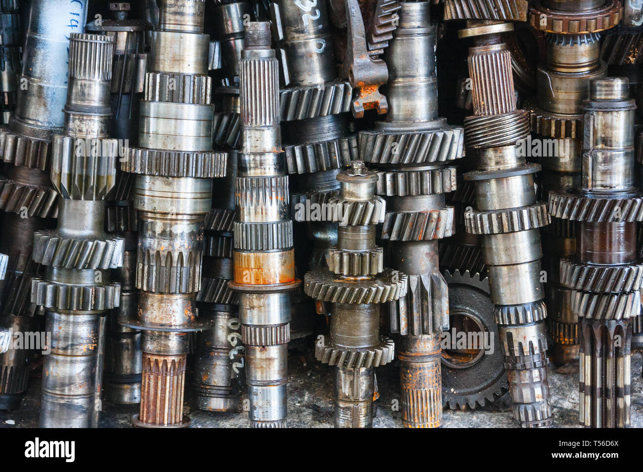 Helical Gears Stock Photos & Helical Gears Stock Images - Alamy