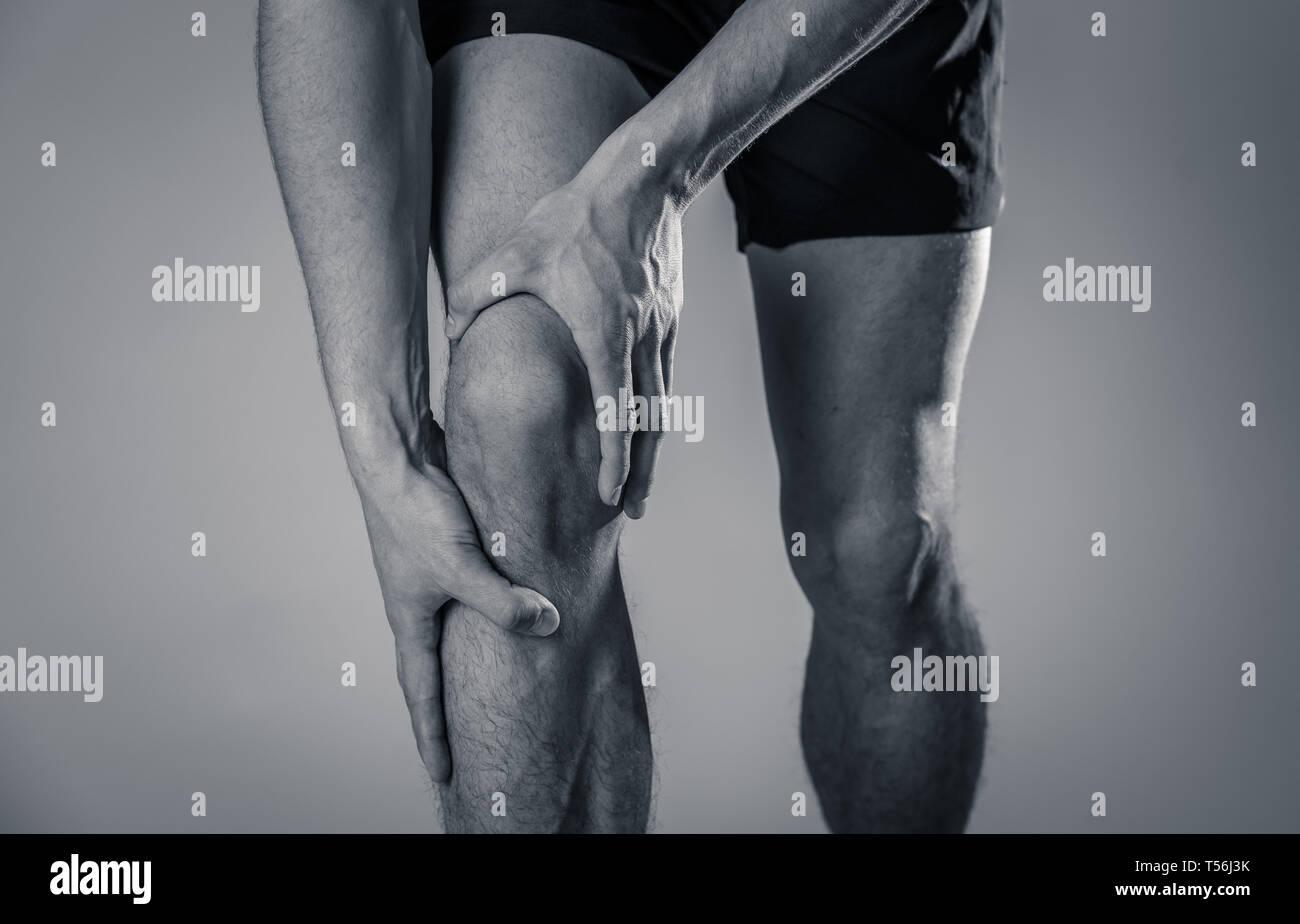 Injured Athlete Broken Leg Stock Photos & Injured Athlete