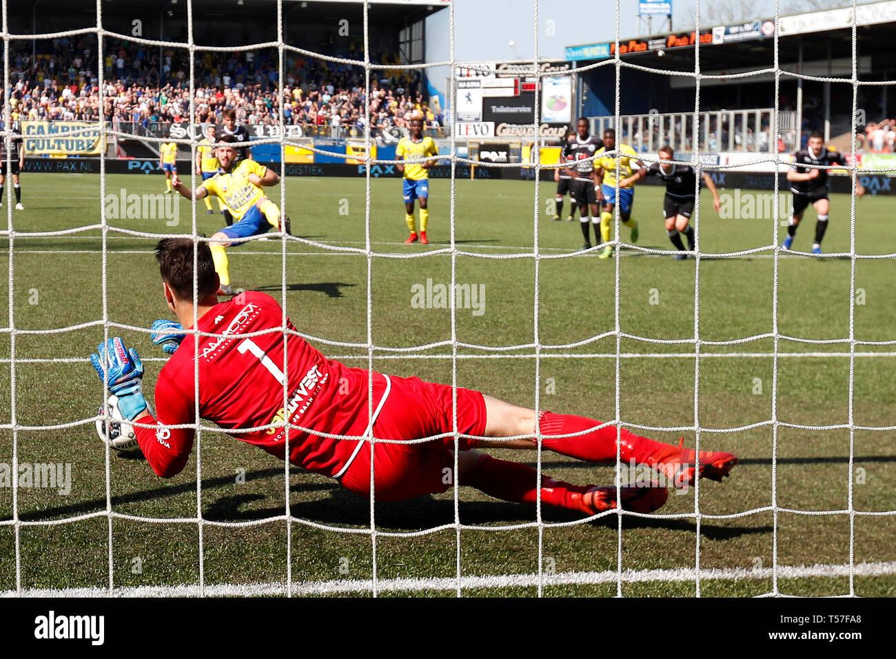 Fa Ar Van Der Steen.Leeuwarden 22d04 2019 Cambuur Stadion Season 2018