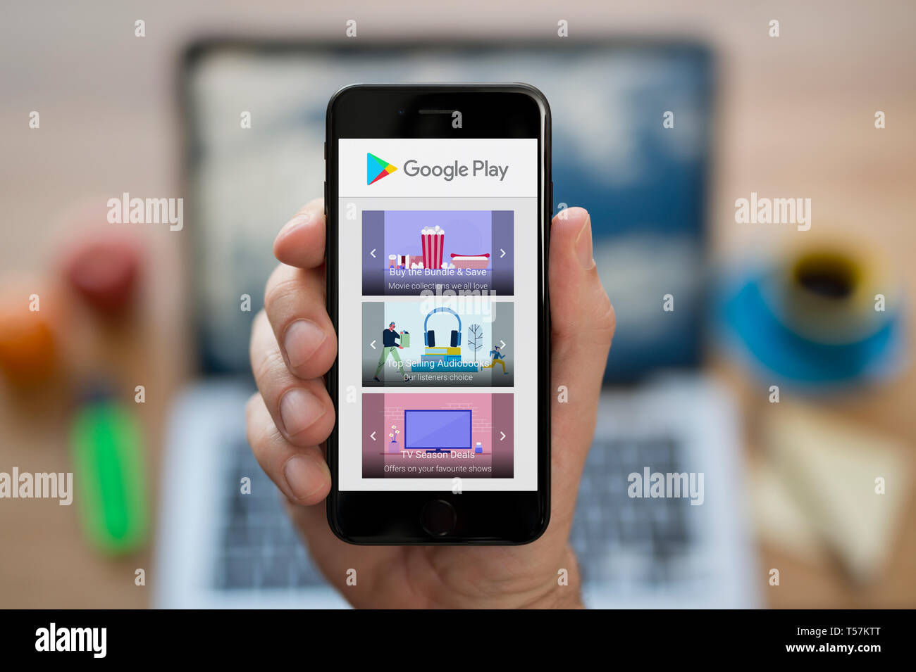Google Home Page Stock Photos & Google Home Page Stock
