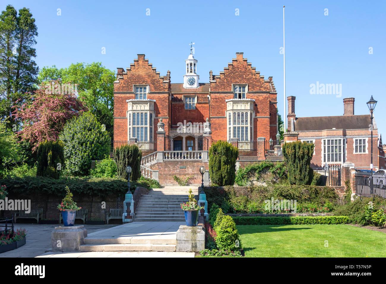 Old Speech Room Gallery, Harrow School, Harrow-on-the-Hill, London Borough of Harrow, Greater London, England, United Kingdom Stock Photo