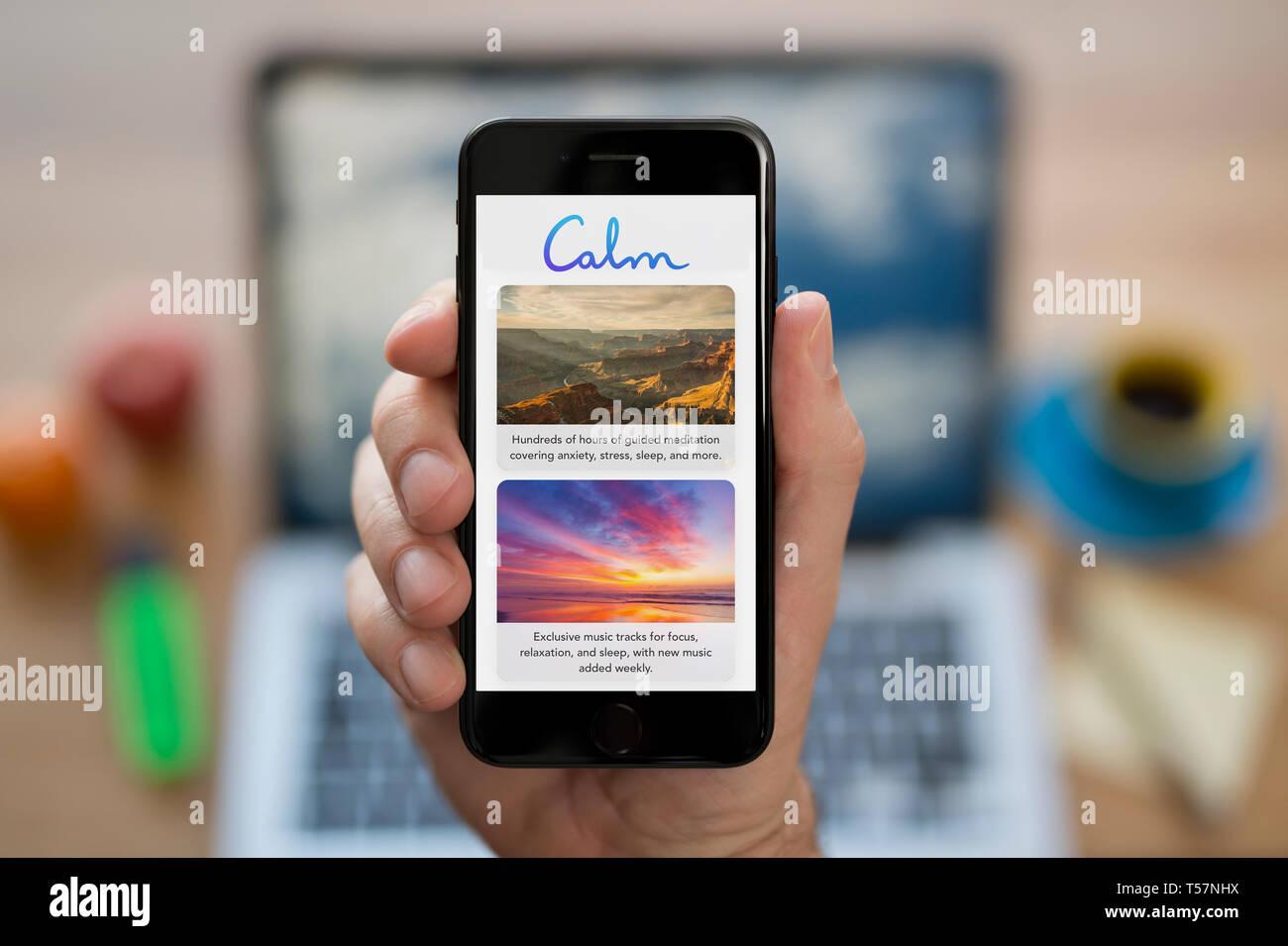 Calm App Stock Photos & Calm App Stock Images - Alamy
