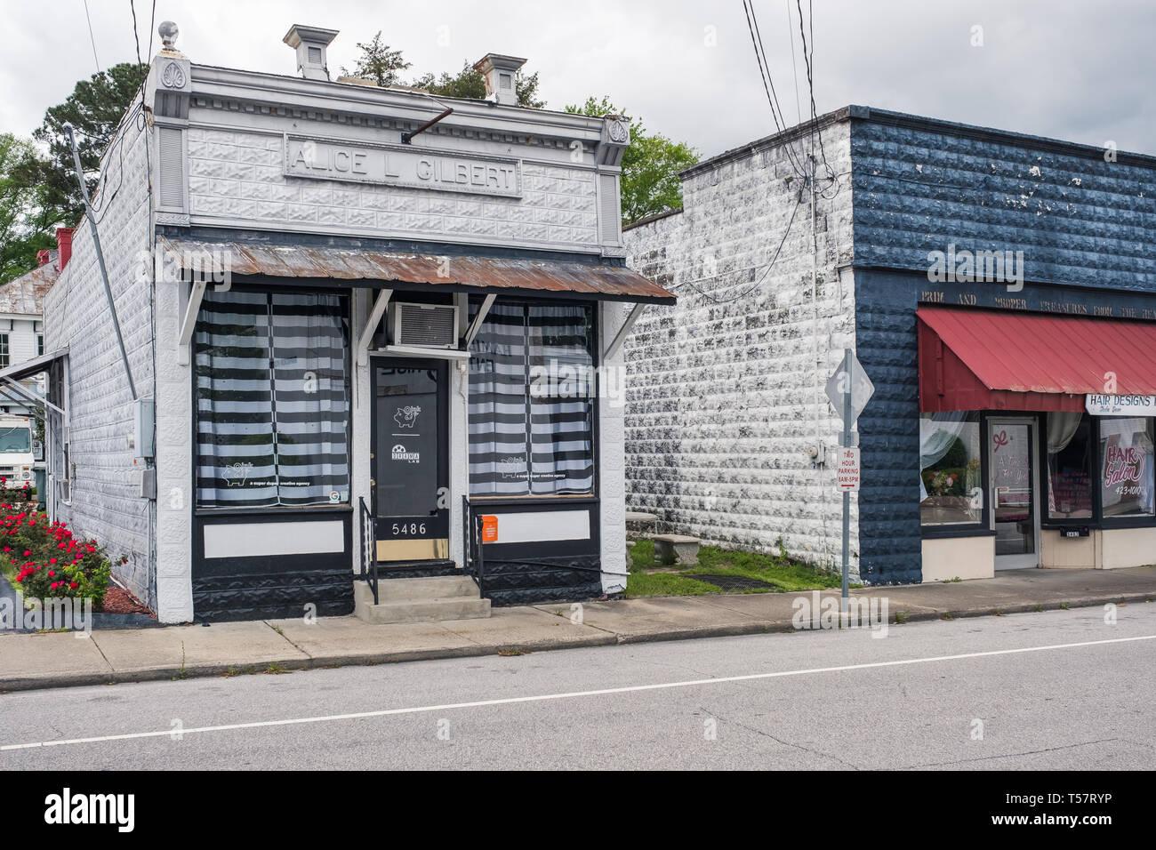 HOPE MILLS, NC - CIRCA April 2019 : Oink a super duper creative agency Stock Photo