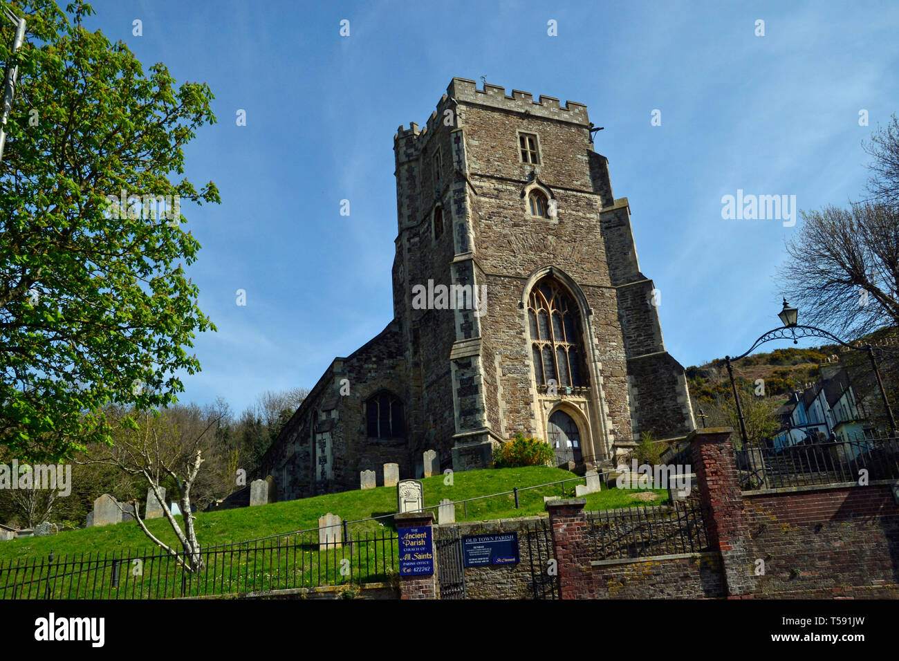 All Saints Church, Hastings, East Sussex, UK Stock Photo