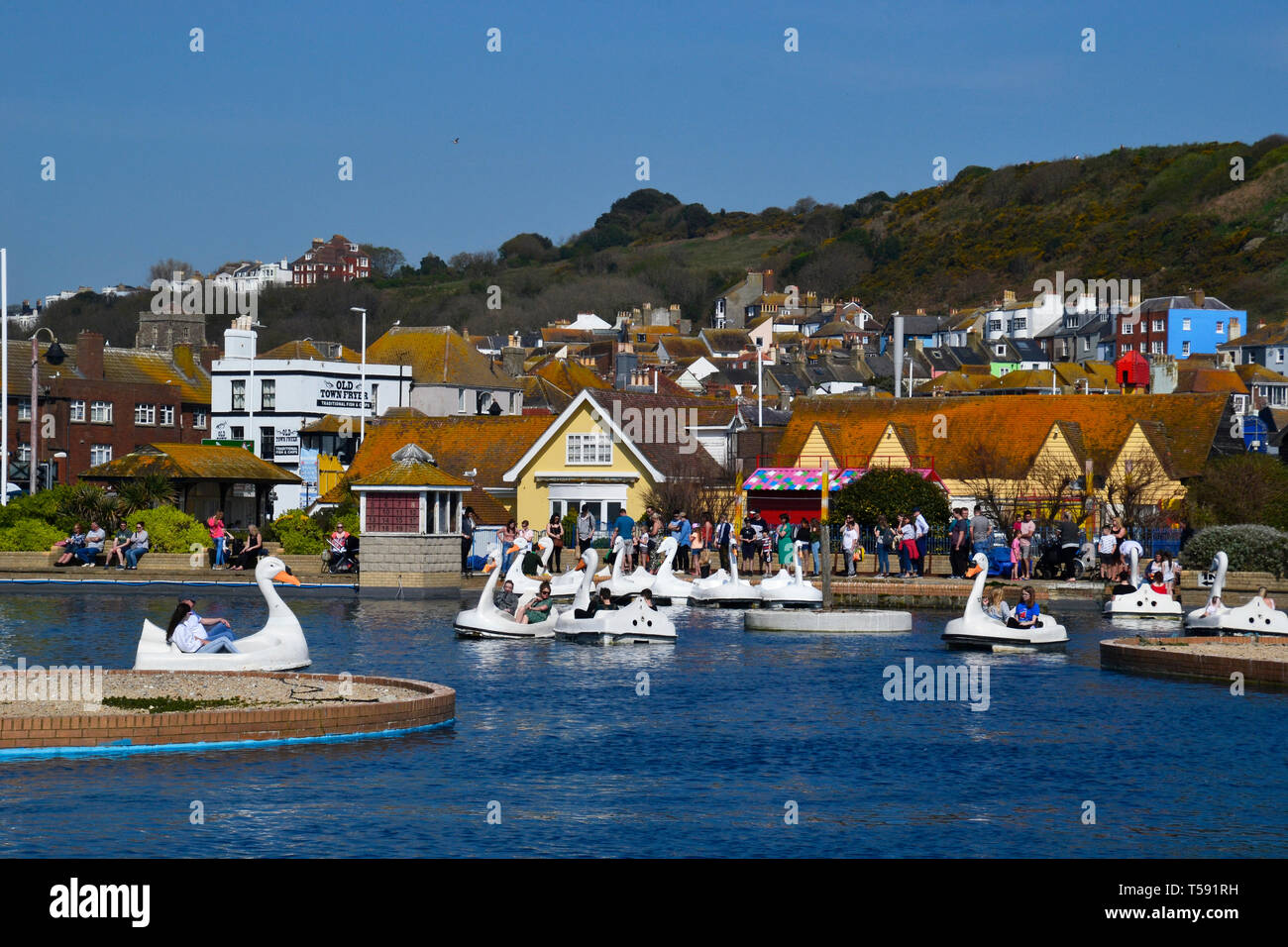 Hastings, East Sussex, UK Stock Photo