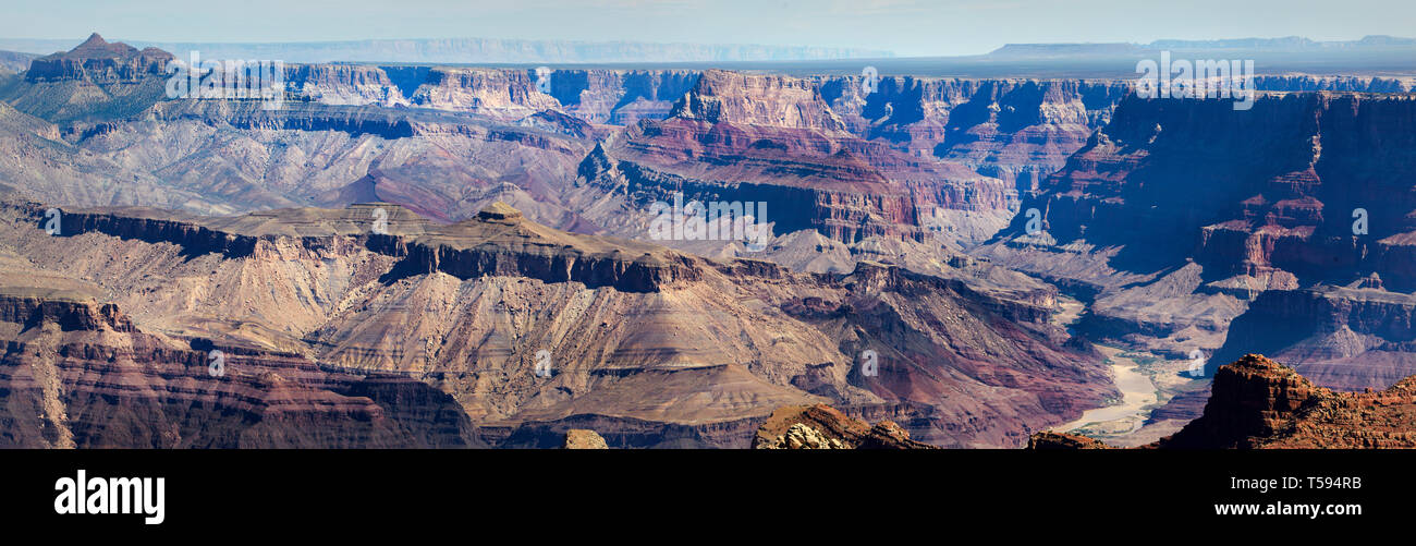 Lipan Point, Grand Canyon South, America. Stock Photo