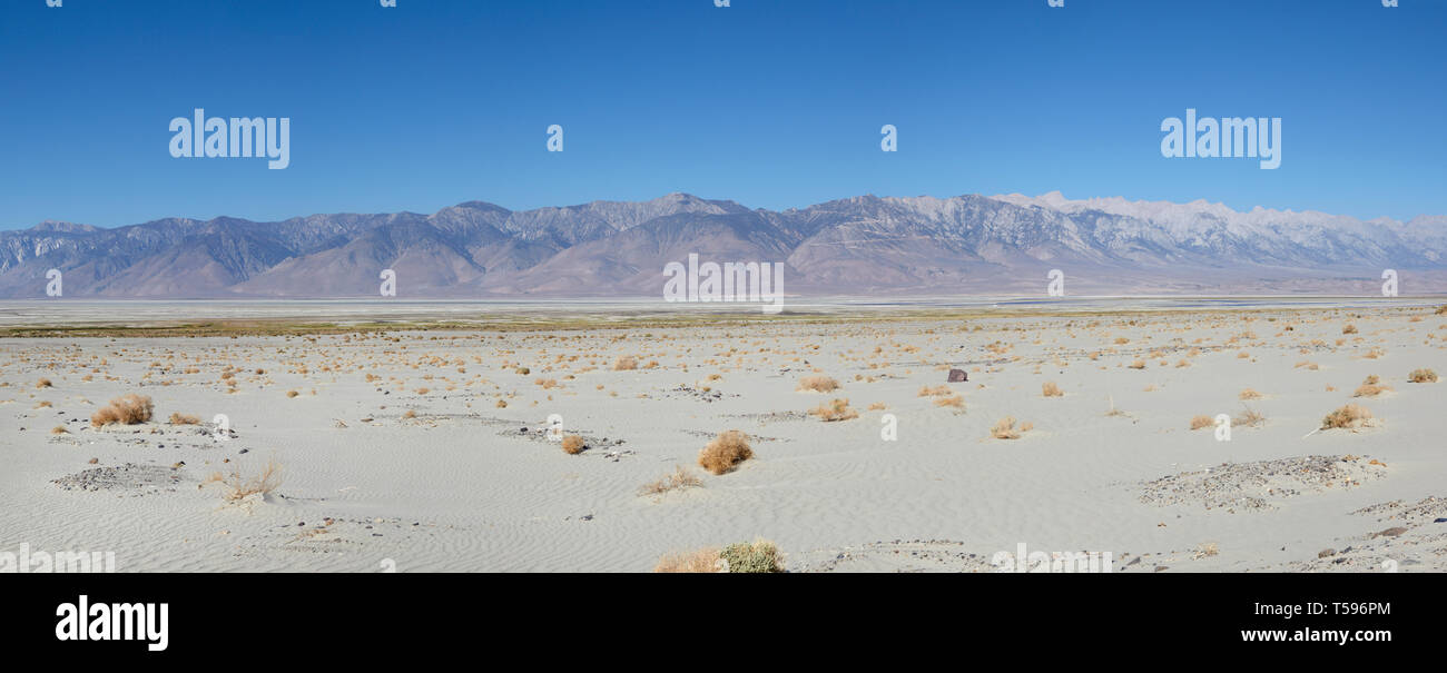 Panamint mountains, Death Valley, America. Stock Photo