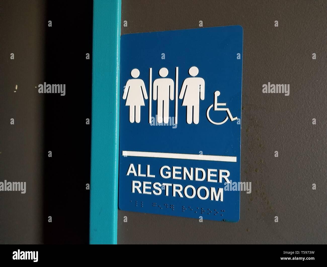 Gender Neutral Bathroom Stock Photos & Gender Neutral