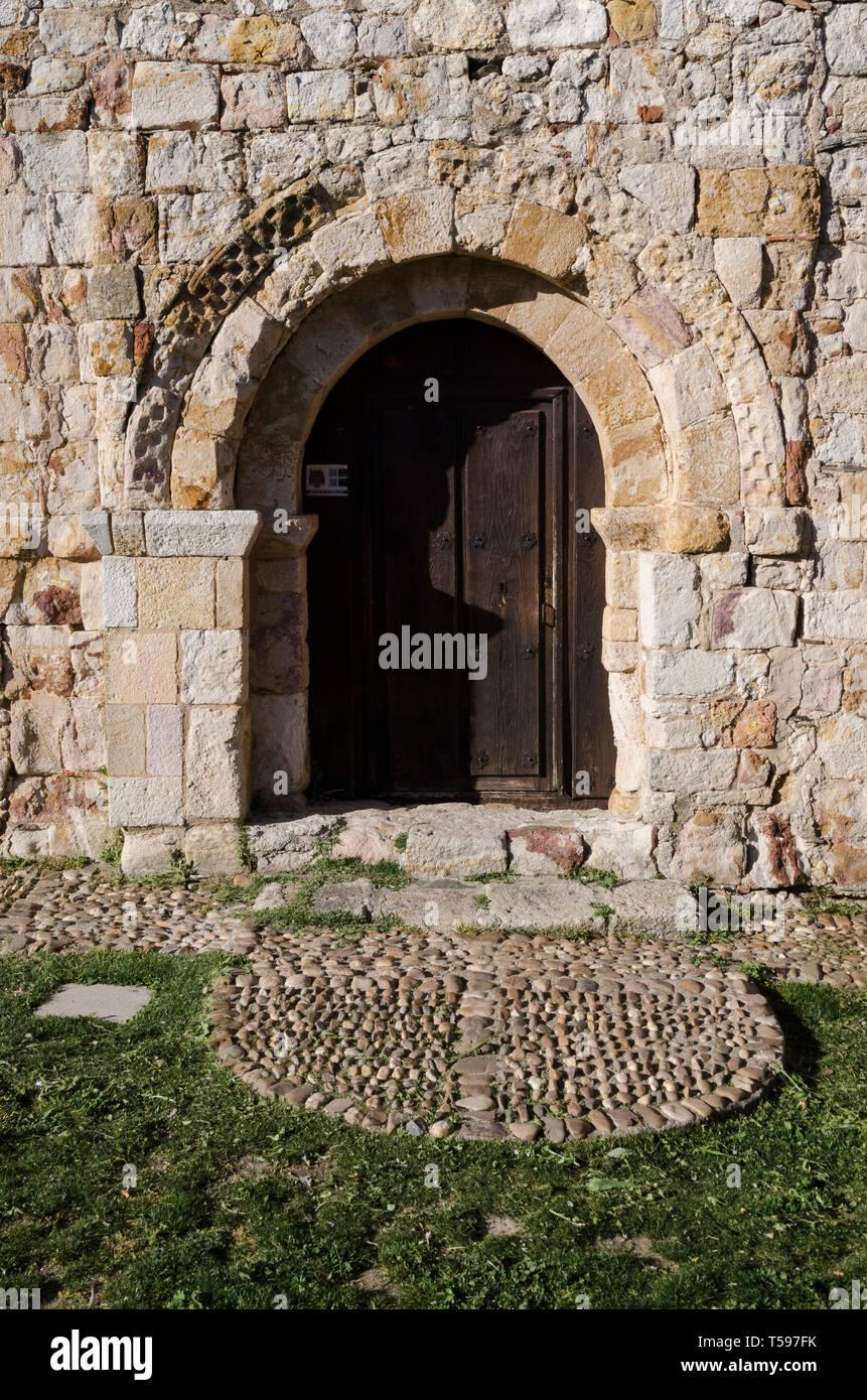 Zamora iglesia de Santiago el Viejo, de Santiago de los caballeros o de Santiago de la era - Stock Image