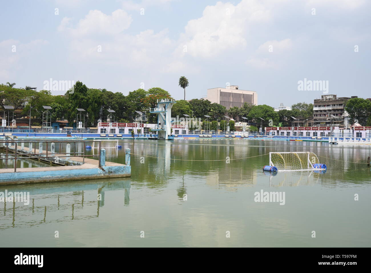 College Square Swimming Pool, Kolkata, India Stock Photo ...