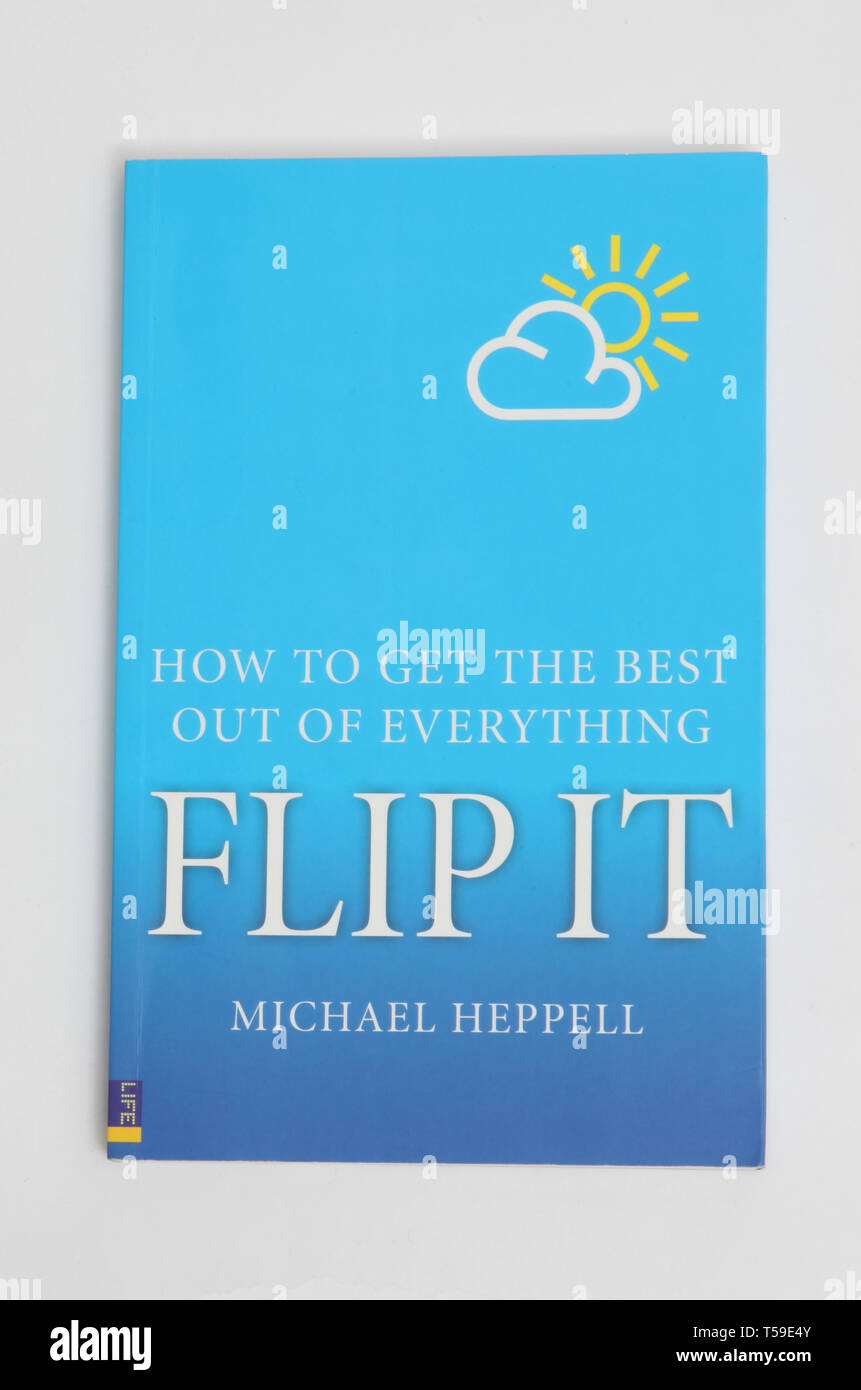 The book, Flip it, by Michael Heppell - Stock Image