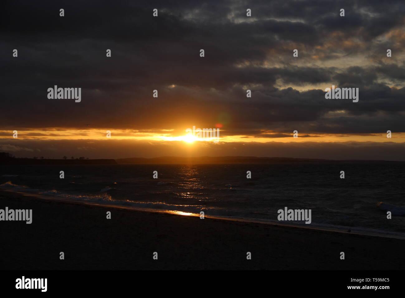 Strand Meer sea beach - Stock Image