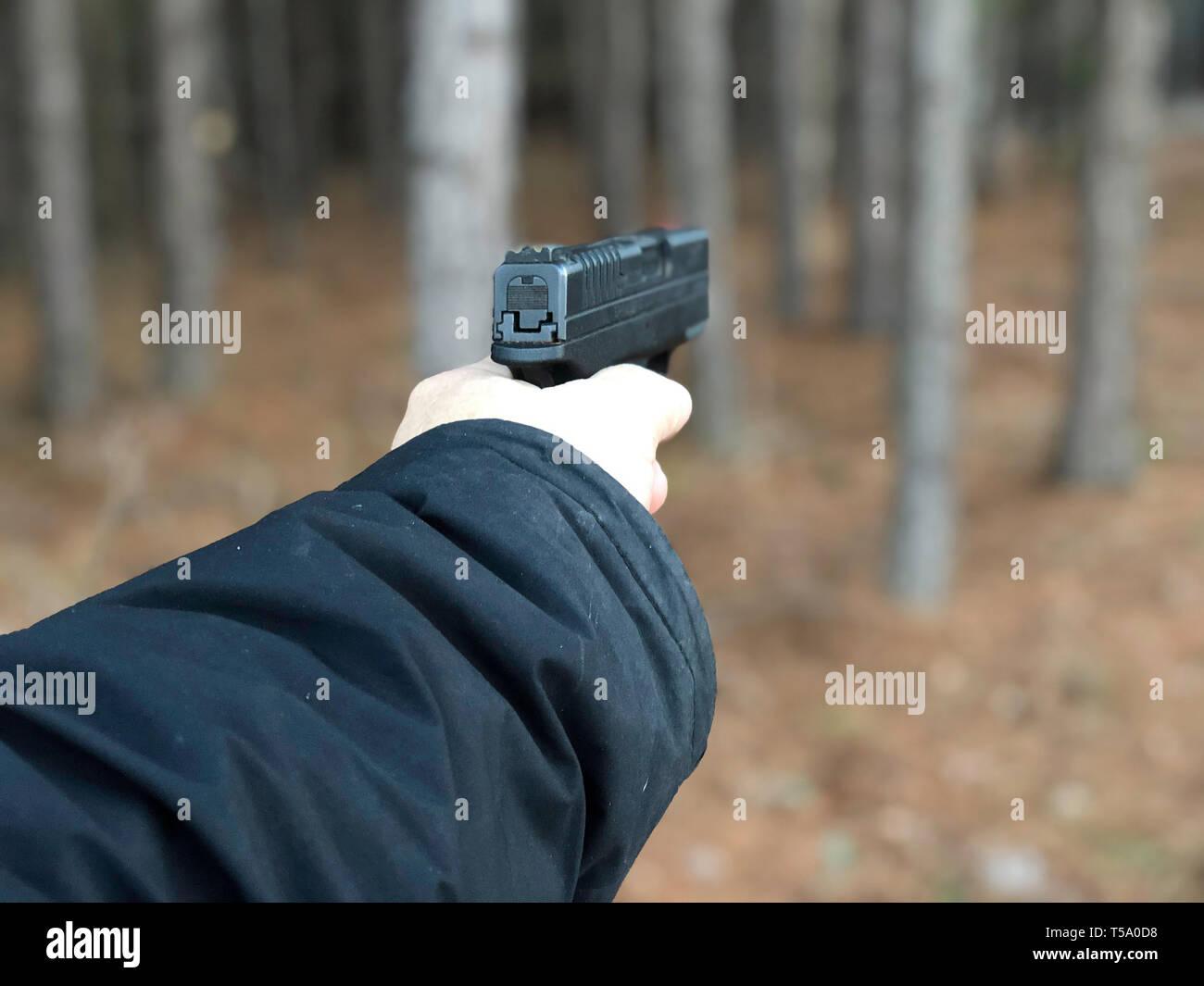 Gun Rights Stock Photo