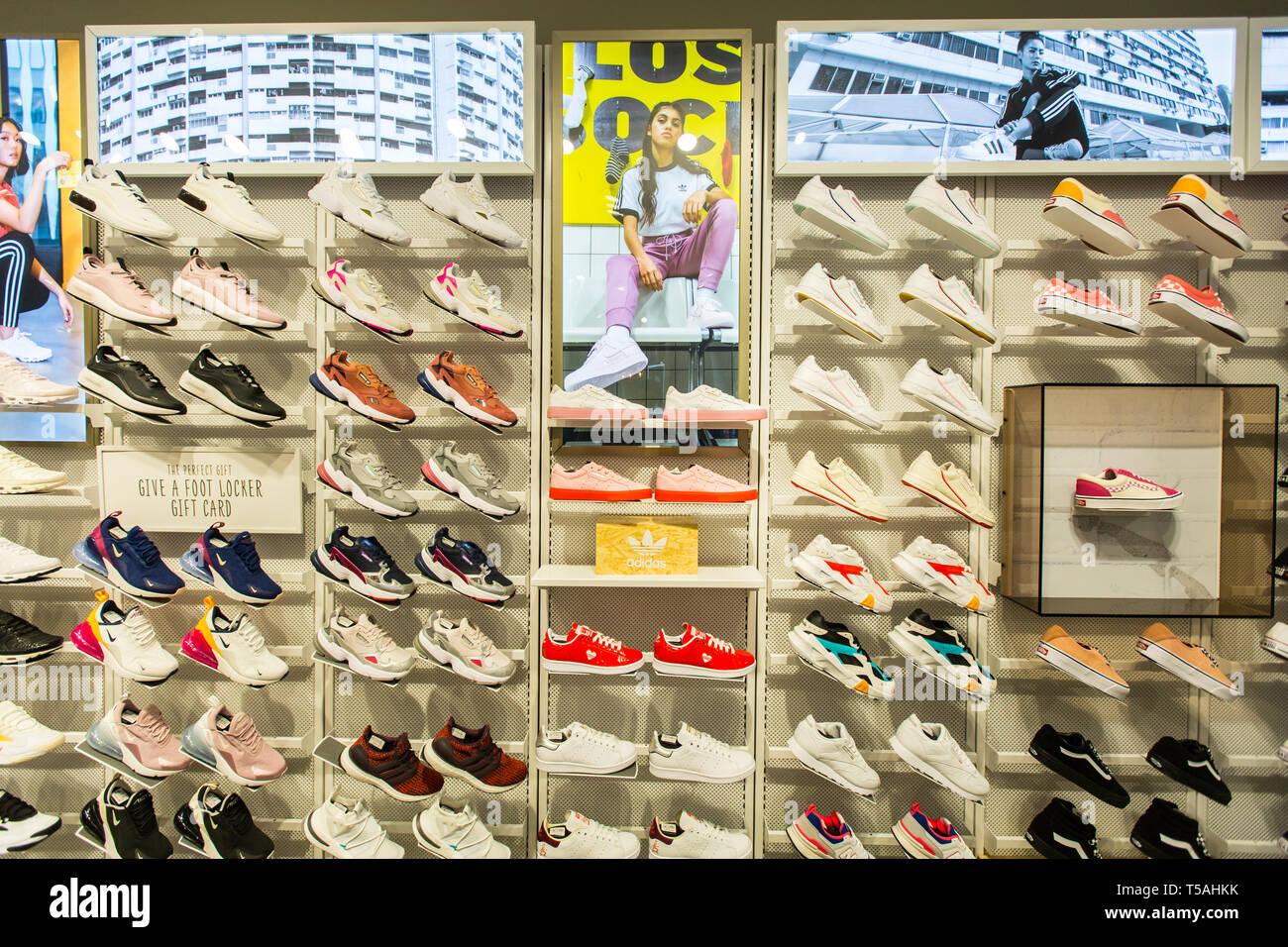 46ed48c01 Foot Locker Stock Photos   Foot Locker Stock Images - Alamy