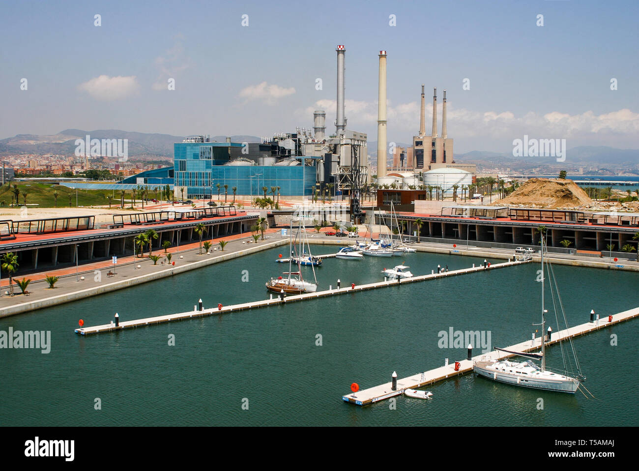 Diagonal Mar district, Barcelona, Catalonia, Spain Stock Photo