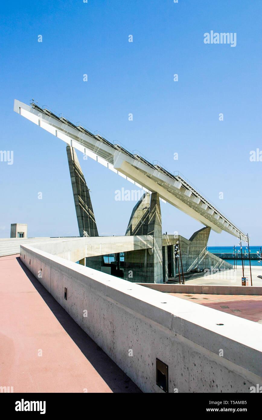 Diagonal Mar district, Barcelona, Catalonia, Spain Stock Photo