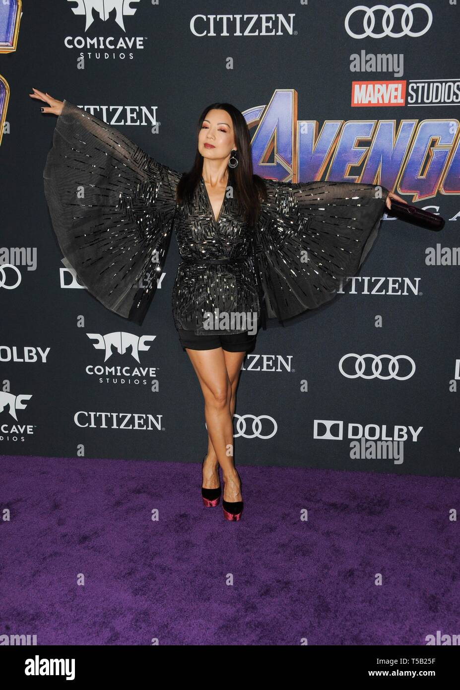 Los Angeles Ca Usa 22nd Apr 2019 Ming Na Wen At Arrivals For Avengers Endgame Premiere