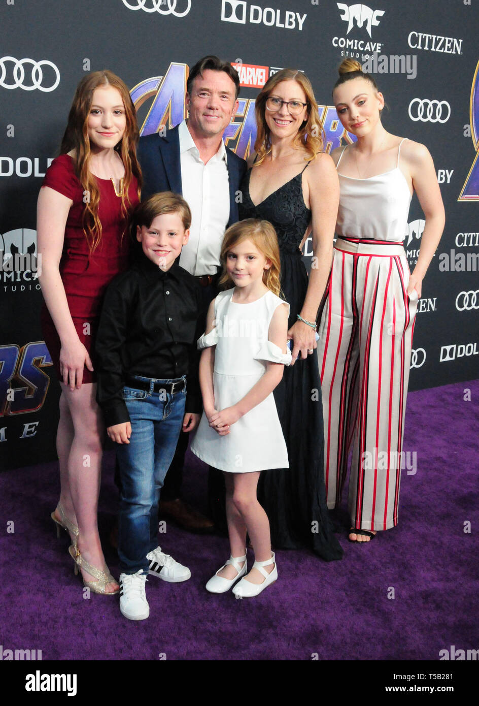 Los Angeles, California, USA. 22nd Apr, 2019. Actor/stuntman Terry Notary attends the World Premiere of Marvel Studios' 'Avengers: Endgame' on April 22, 2019 at Los Angeles Convention Center in Los Angeles, California, USA. Credit: Barry King/Alamy Live News - Stock Image