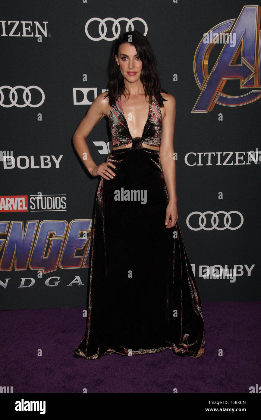 Los Angeles Usa 22nd Apr 2019 Emma Lahana 04 22 2019 The World Premiere Of Marvel Studios Avengers Endgame Held At The Los Angeles Convention Center In Los Angeles Ca Photo By Izumi Hasegawa Hollywoodnewswire Co Credit