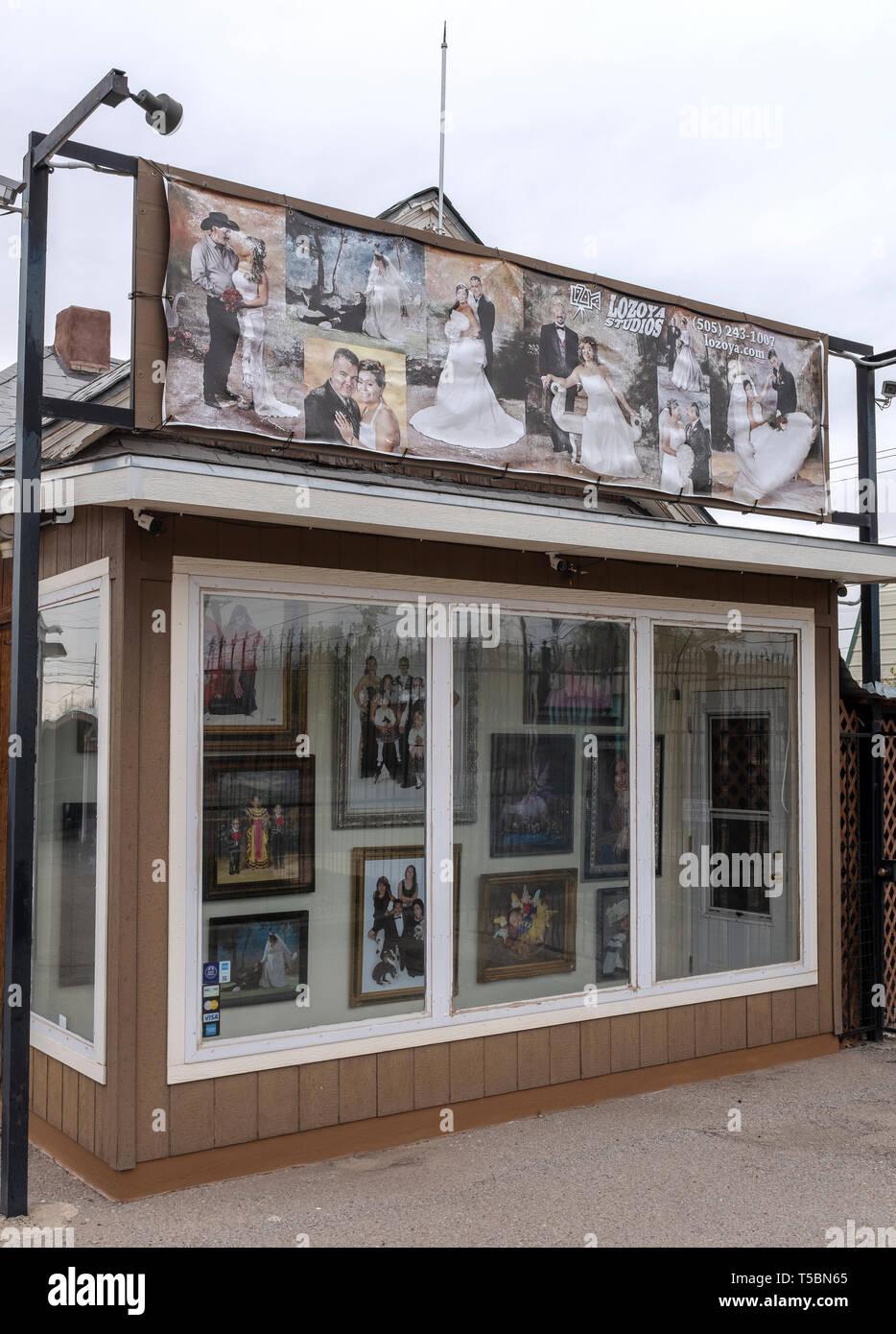 'Lozoya Studios': photo studio in Albuquerque, New Mexico - Stock Image
