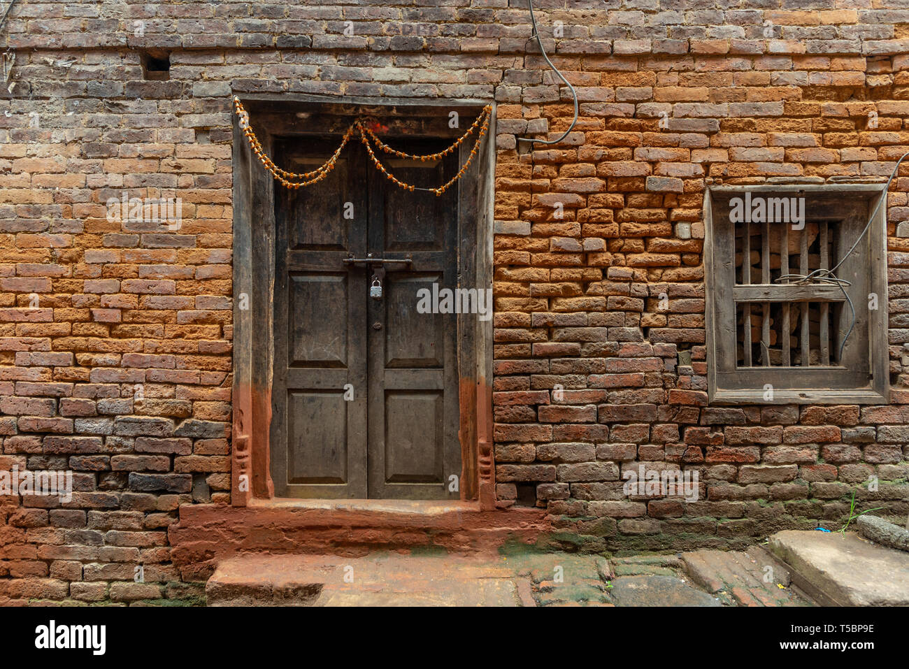 Newari Door High Resolution Stock Photography And Images Alamy