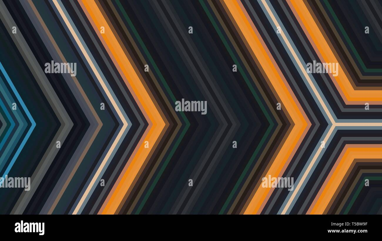 abstract black orange background geometric arrow illustration for banner digital printing postcards or wallpaper concept design T5BW9F