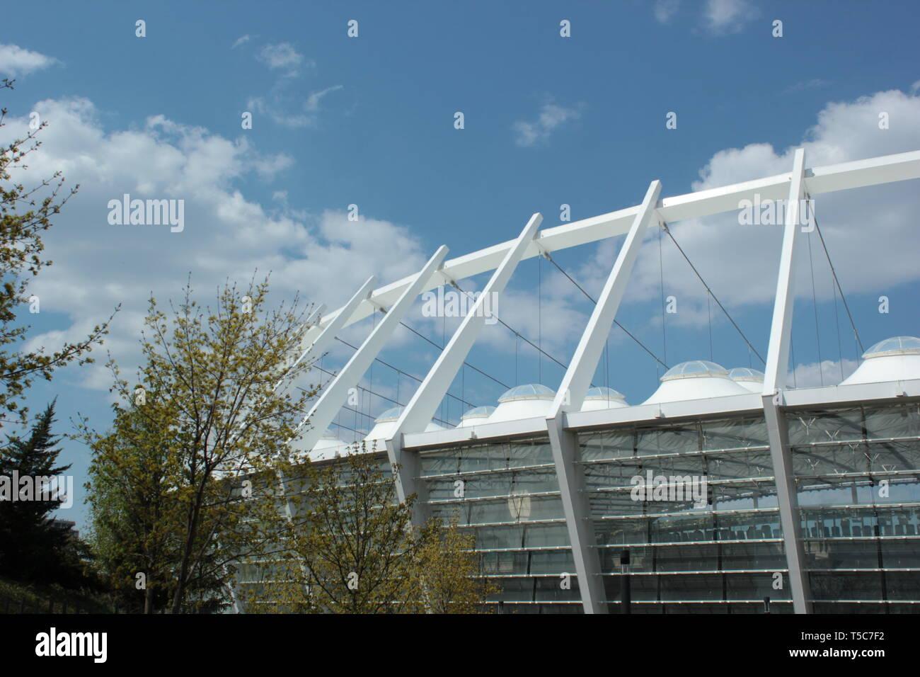 Carcass of the stadium - Stock Image