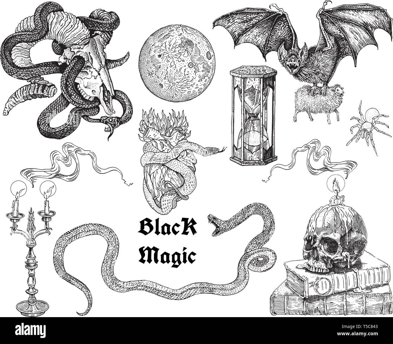 Goat Of Black Magic Stock Photos & Goat Of Black Magic Stock
