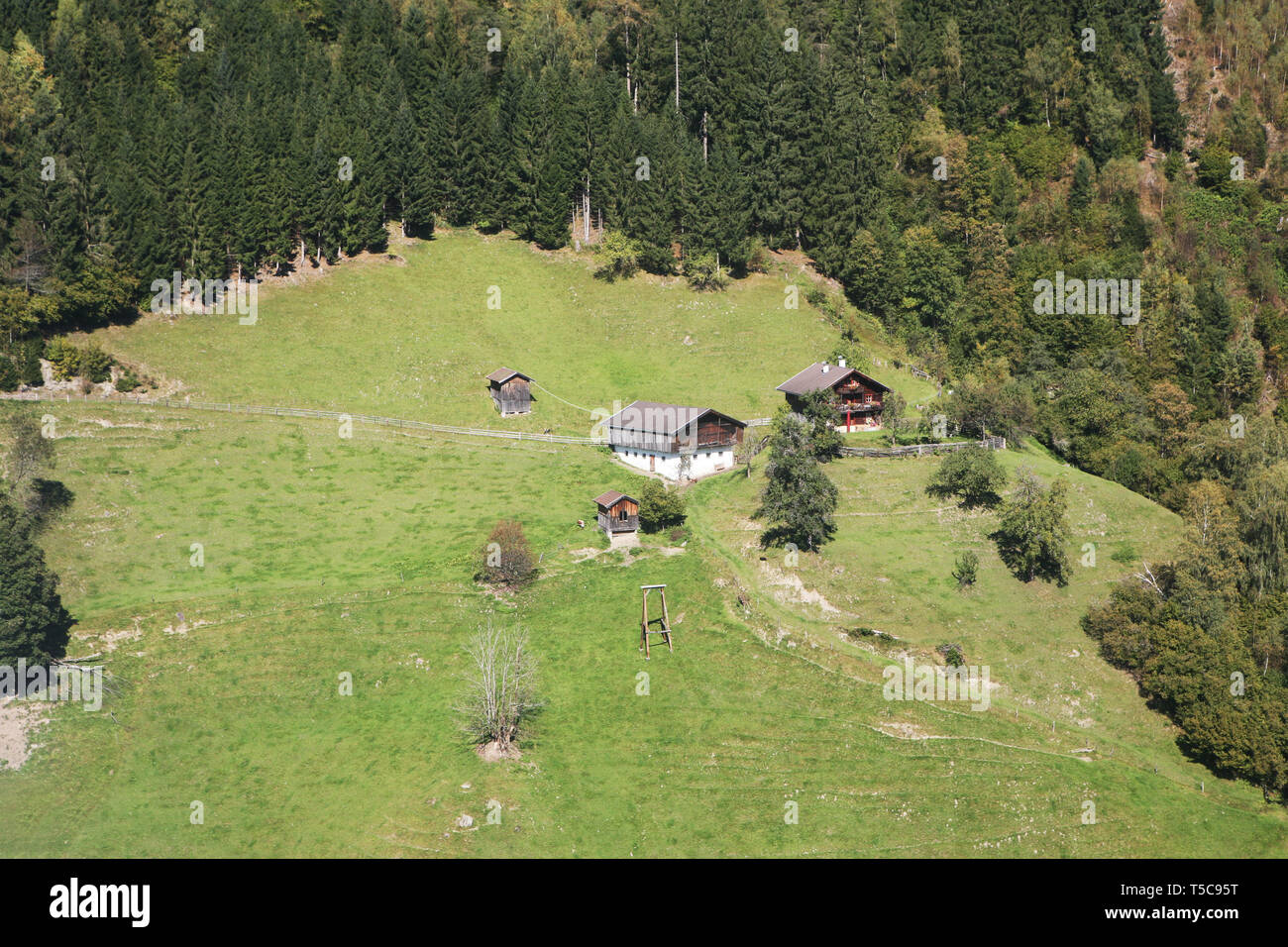 Landscape in Austria - Zell am See - Europe Stock Photo