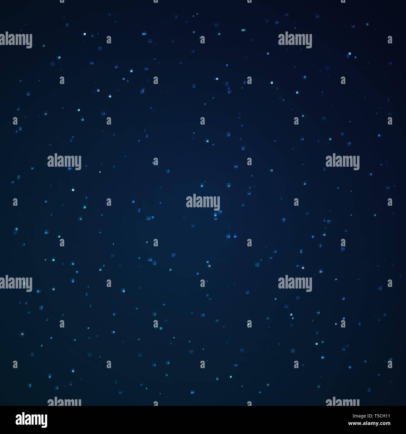 The star studded sky. Vector illustration. Stellar galaxy - Stock Vector