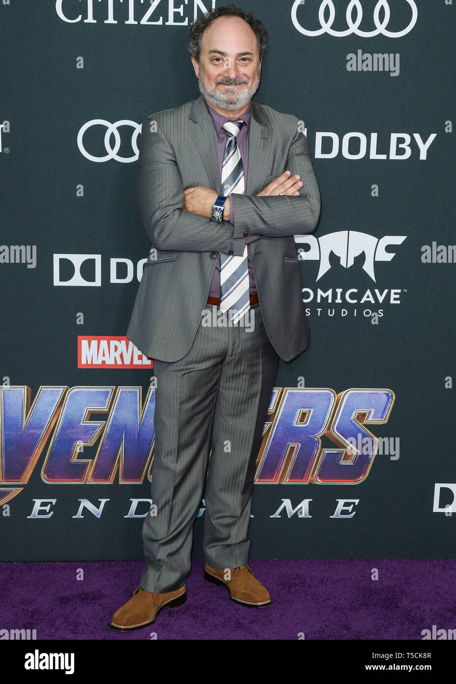 Los Angeles, United States. 22nd Apr, 2019.LOS ANGELES, CALIFORNIA, USA - APRIL 22: Kevin Pollak arrives at the World Premiere Of Walt Disney Studios Motion Pictures and Marvel Studios' 'Avengers: Endgame' held at the Los Angeles Convention Center on April 22, 2019 in Los Angeles, California, United States. (Photo by Xavier Collin/Image Press Agency) Credit: Image Press Agency/Alamy Live News Stock Photo