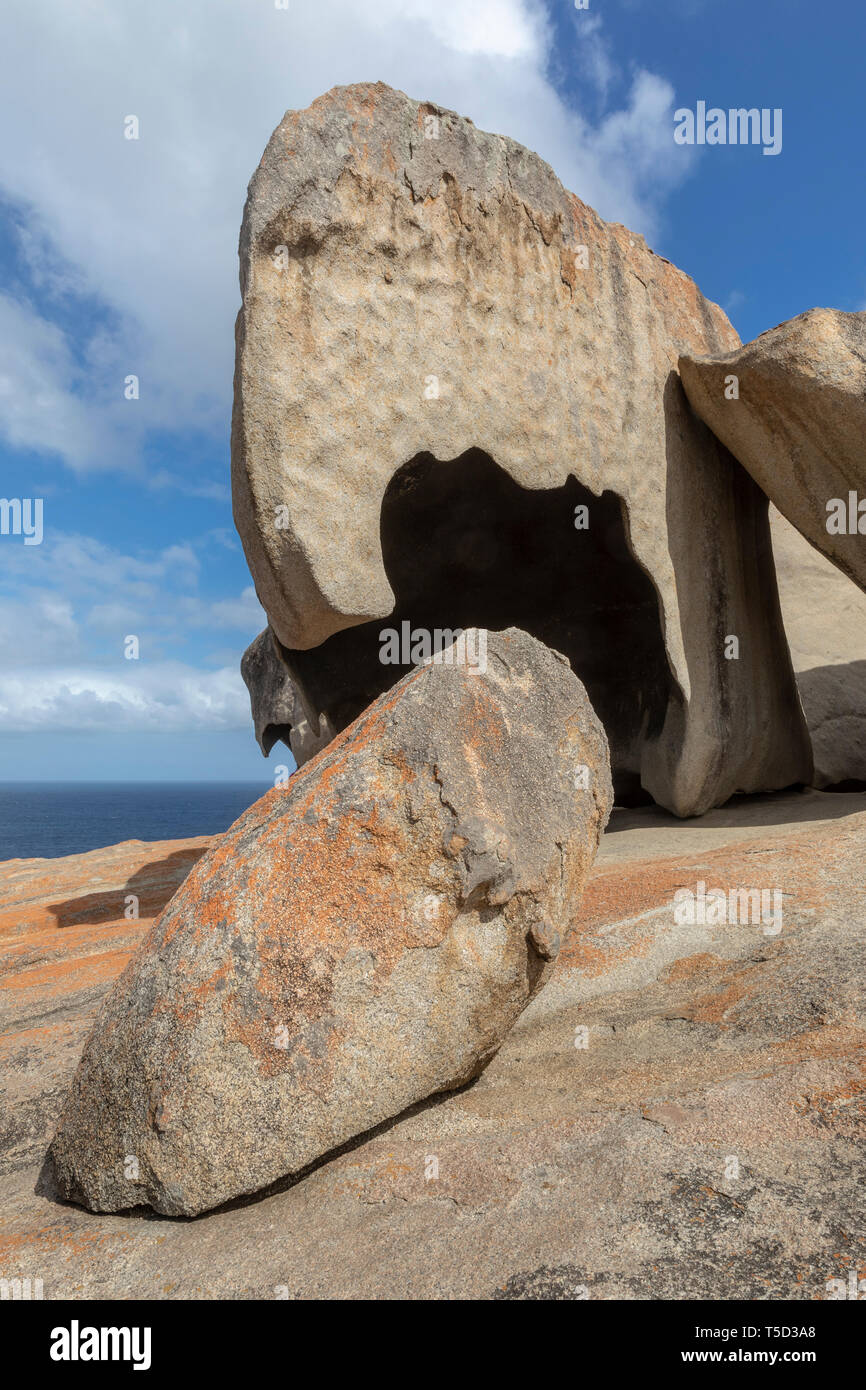 Remarkable Rocks, Flinders Chase National Park, Kangaroo Island, South Australia - Stock Image