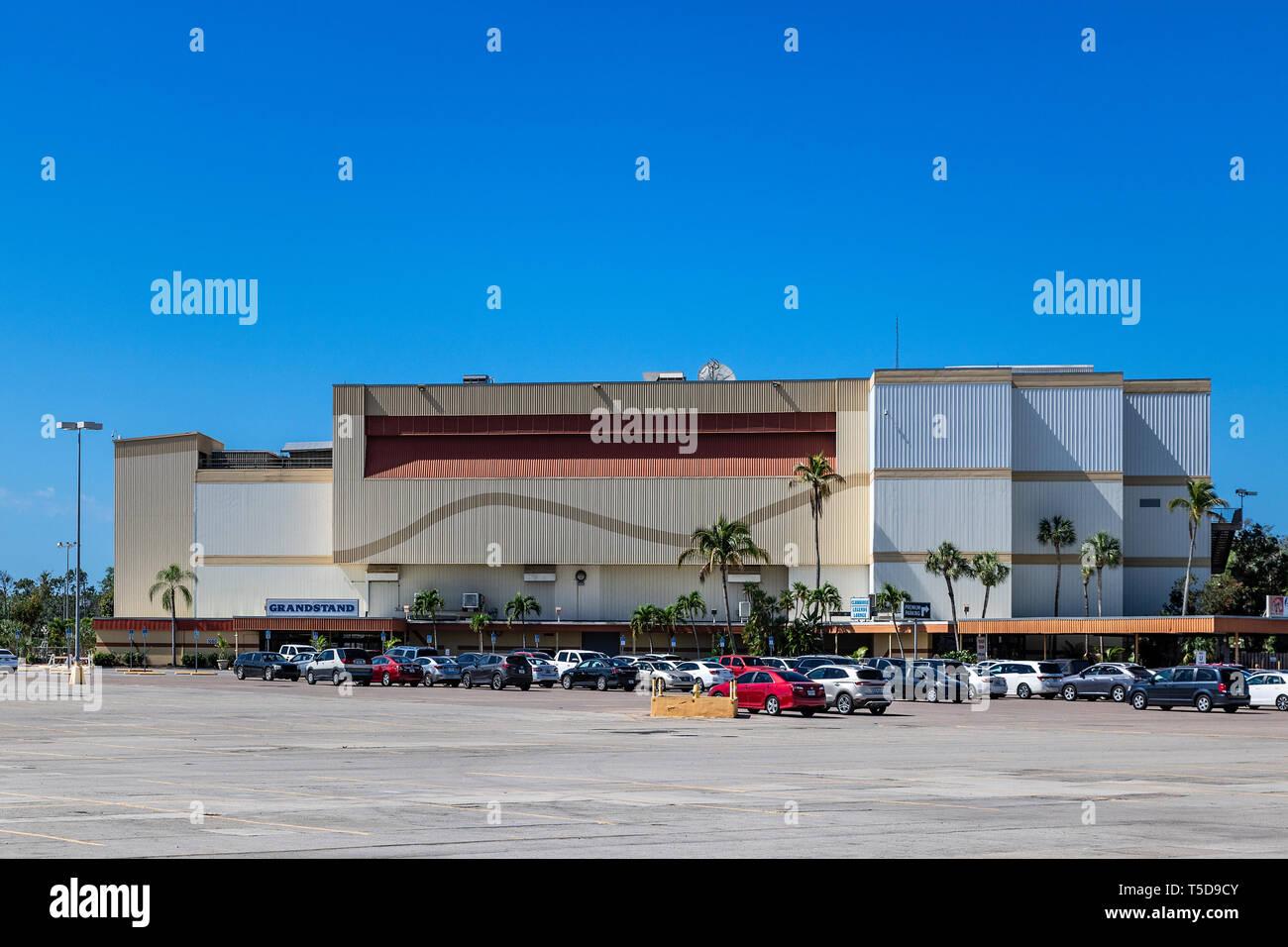 Grayhound Racing Track, Bonita Springs, Florida, USA. Stock Photo