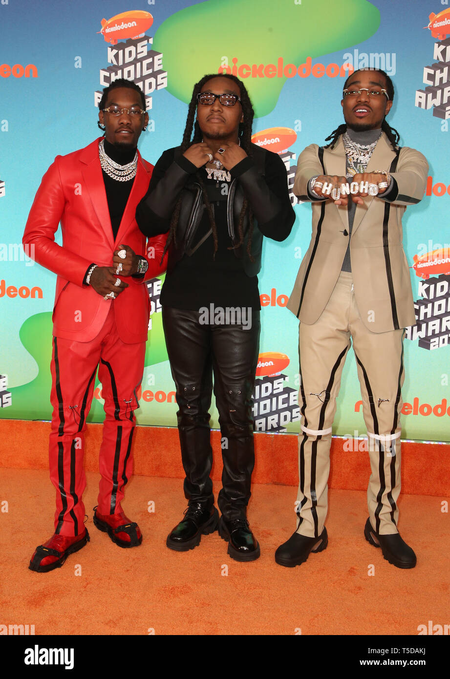 Quavo And Takeoff Of Migos Stock Photos & Quavo And Takeoff