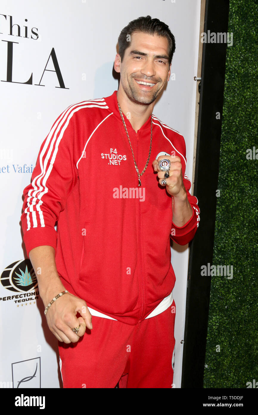 April 18, 2019 - Los Angeles, CA, USA - LOS ANGELES - APR 18:  IMG at the ''This Is LA'' Season 3 Premiere Party at the Yamashiro on April 18, 2019 in Los Angeles, CA (Credit Image: © Kay Blake/ZUMA Wire) - Stock Image