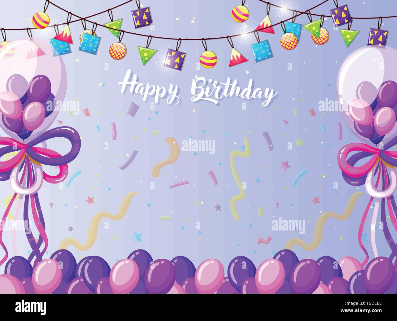 Template For Birthday Card from c8.alamy.com