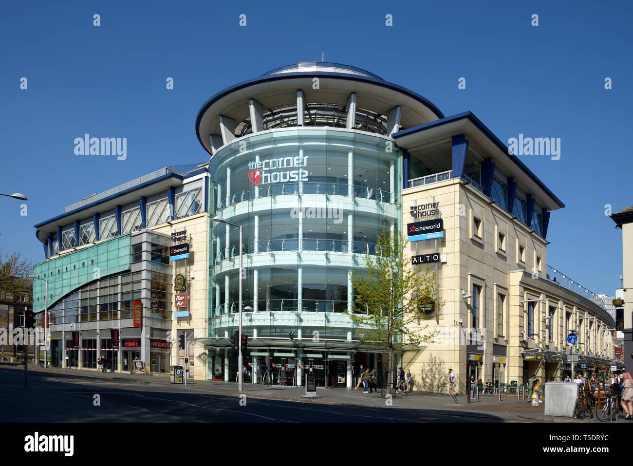 Corner House, entertainment centre, Nottingham. - Stock Image
