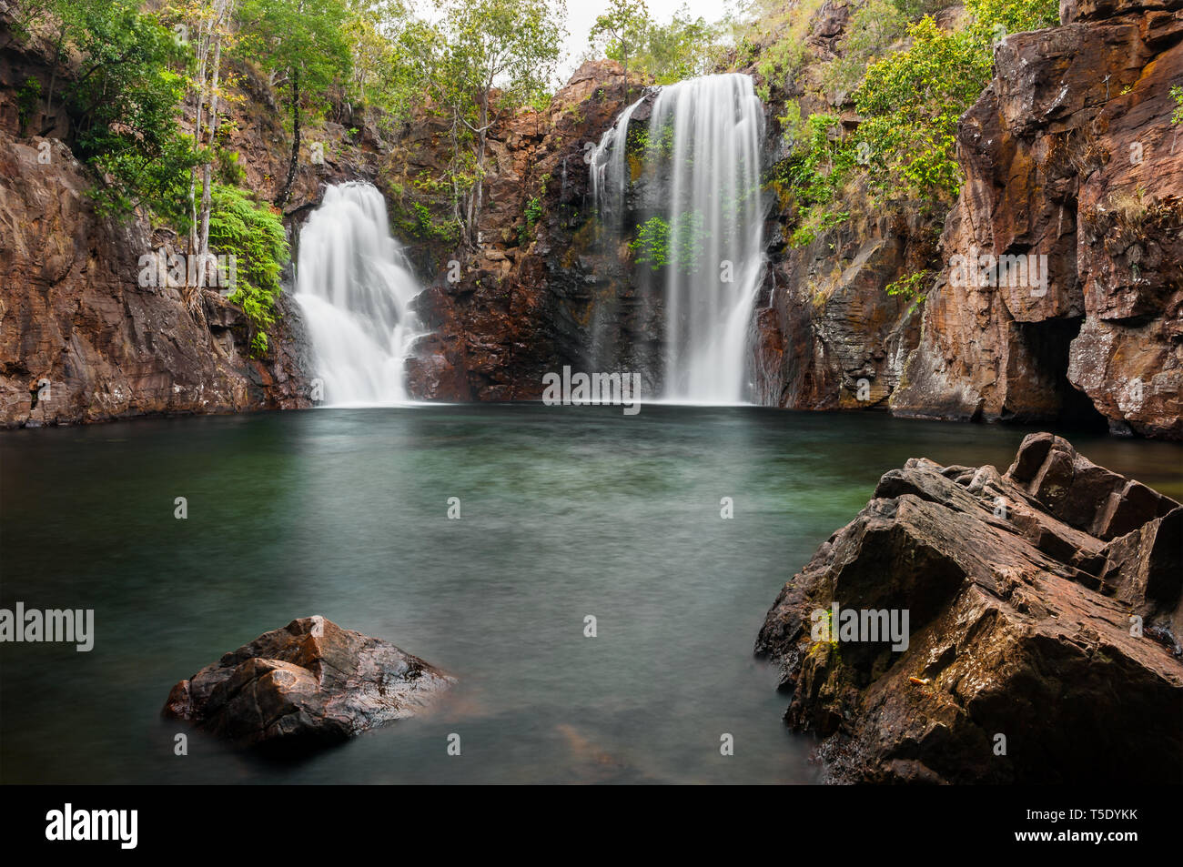 Beautiful Florence Falls in Litchfield NP. - Stock Image