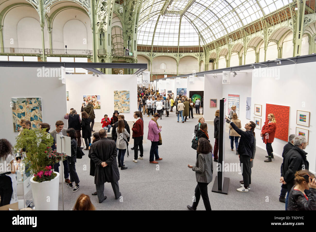 Paris, France. 3th April, 2019. Artwork exibited at Paris Art Fair, Paris, 2019, France. Credit: Veronique Phitoussi/Alamy Stock Photo Stock Photo