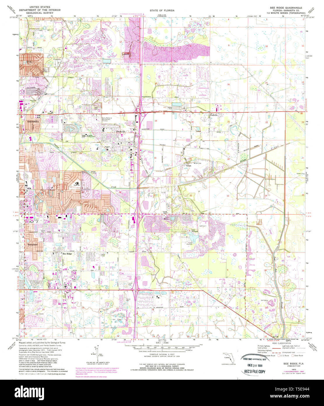 USGS TOPO Map Florida FL Bee Ridge 345131 1973 24000 ... Usgs Bee Map on dcnr maps, topographic maps, digitalglobe maps, dnr maps, google maps, science maps, esri maps, delorme maps, geological survey maps, microsoft maps, geology maps, twra maps, ascs maps, noaa maps, bucks county pa township maps, cornell university maps, cia maps, osm maps, unosat maps, usc maps,
