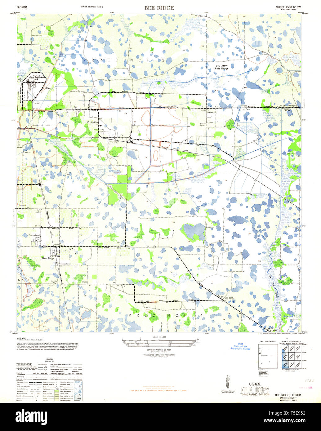 USGS TOPO Map Florida FL Bee Ridge 345134 1947 24000 ... Usgs Bee Map on dcnr maps, topographic maps, digitalglobe maps, dnr maps, google maps, science maps, esri maps, delorme maps, geological survey maps, microsoft maps, geology maps, twra maps, ascs maps, noaa maps, bucks county pa township maps, cornell university maps, cia maps, osm maps, unosat maps, usc maps,