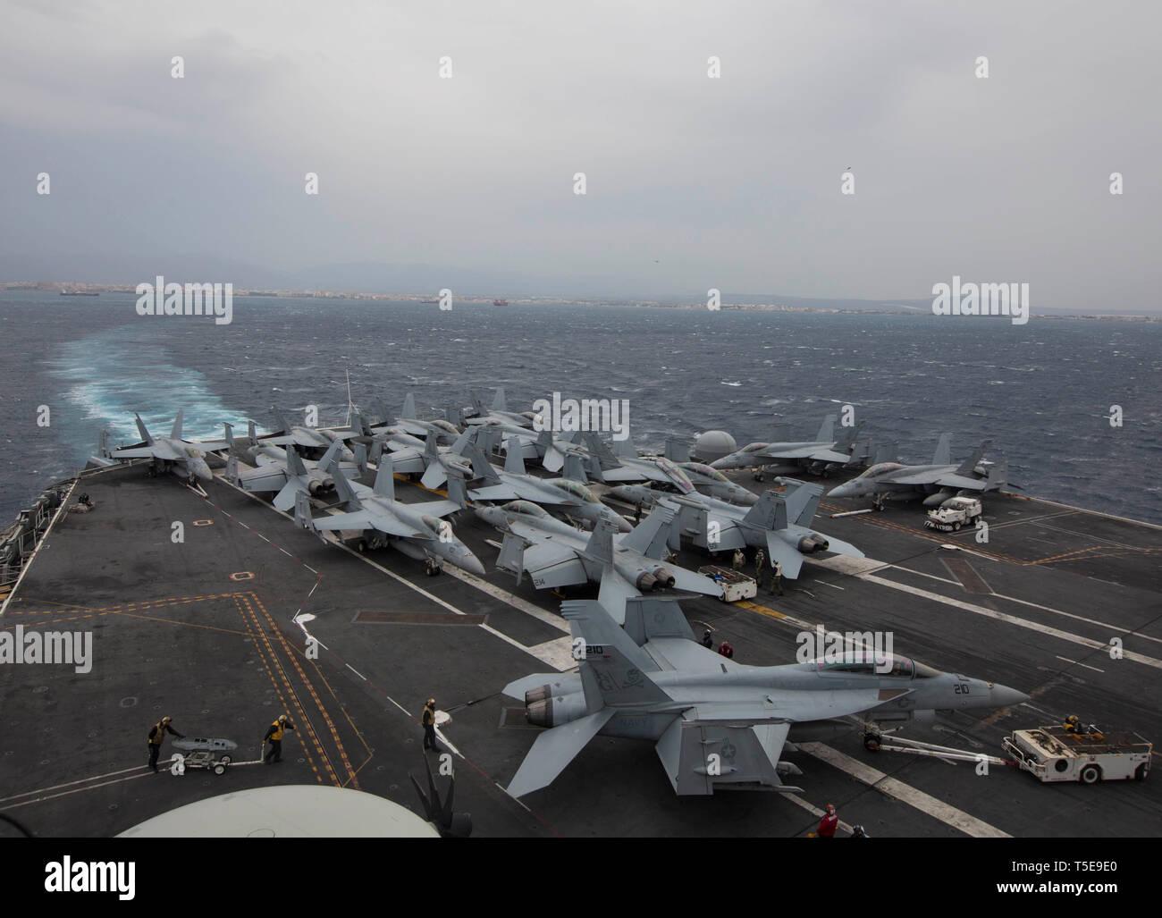 Uss Nimitz Deployment Schedule 2019 190420 N PW030 1041 MEDITERRANEAN SEA (April 20, 2019) The Nimitz