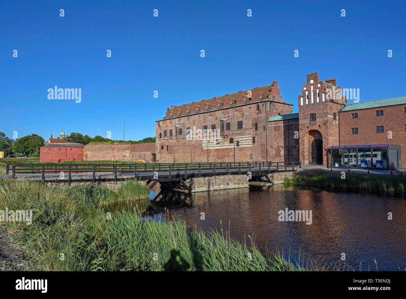 Malmo Castle Or Malmohus Slott In Malmo Was Built From 1537